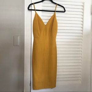 windsor mustard dress